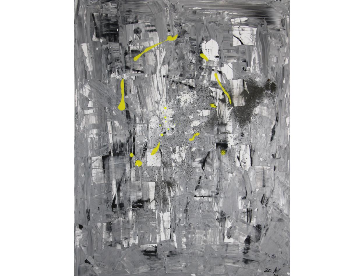 BlackWhite Yellow