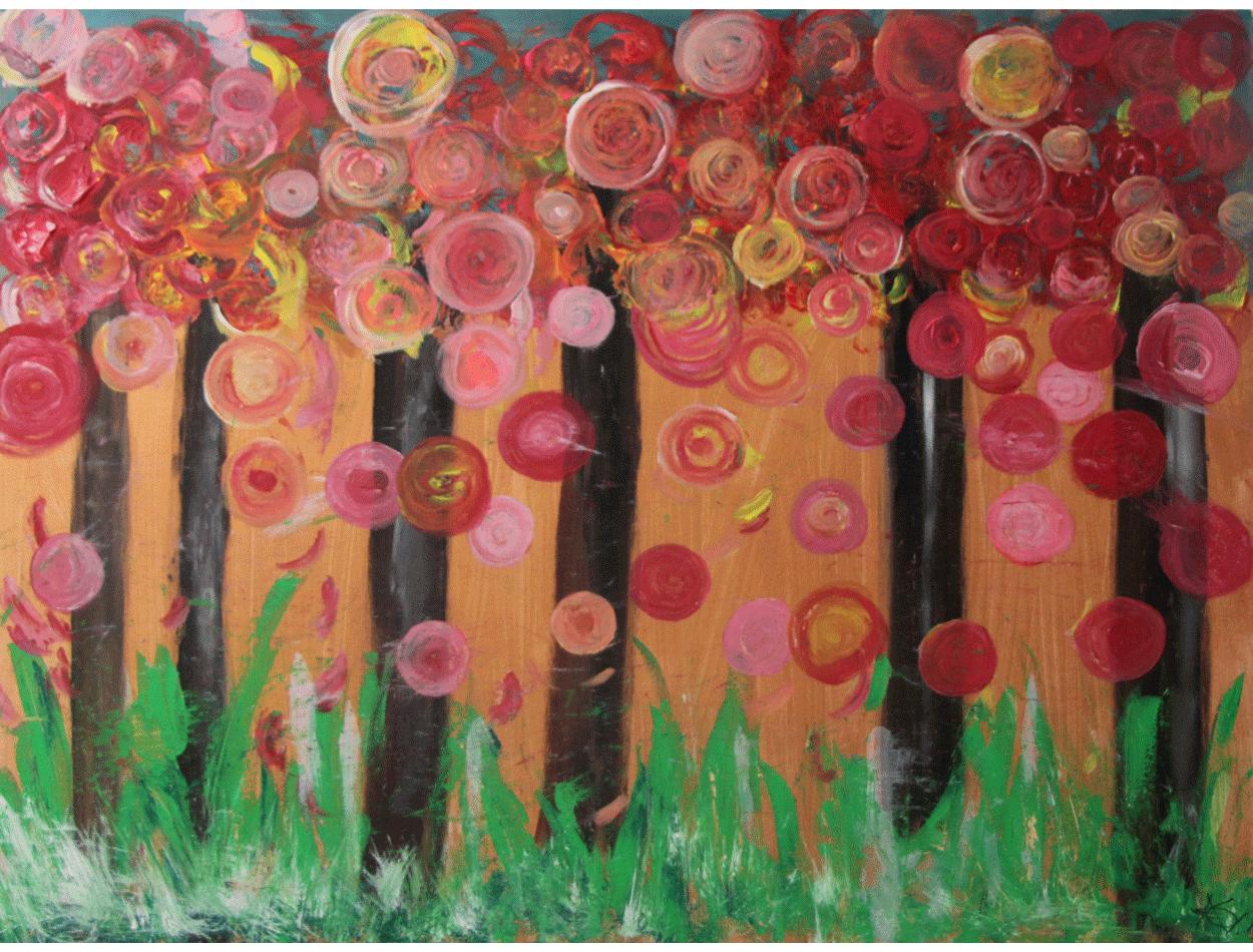 Blumenregen